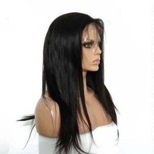 Full Lace Front Human Blended wig